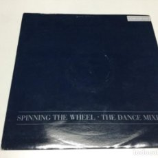 Discos de vinilo: GEORGE MICHAEL - SPINNING THE WHEEL.. Lote 218762202