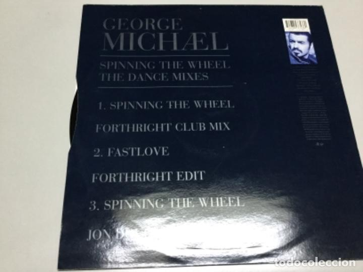 Discos de vinilo: George Michael - spinning the wheel. - Foto 2 - 218762202