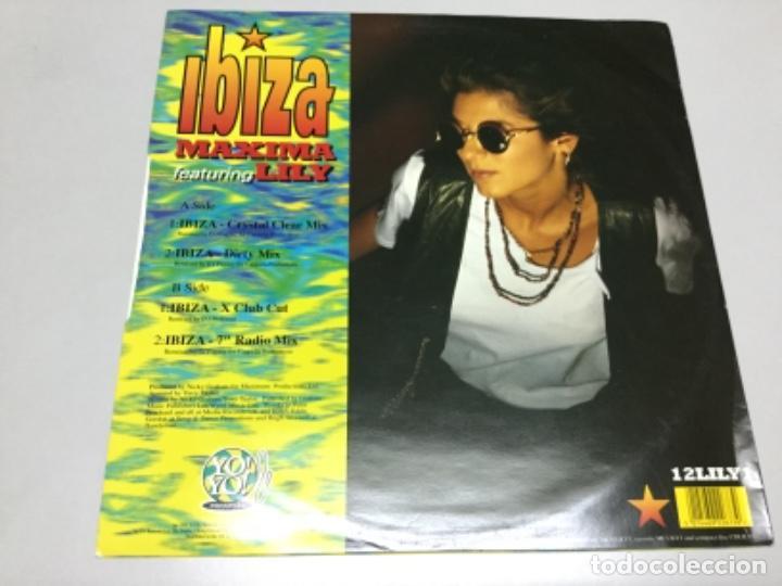 Discos de vinilo: Ibiza - maxima featuring Lily - Foto 2 - 141820750