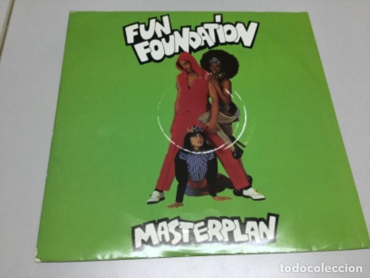 FUN FOUNDATION - MASTERPLAN (Música - Discos de Vinilo - EPs - Rap / Hip Hop)