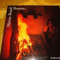 Discos de vinilo: MARINA ROSSELL. PENYORA. CBS, 1978. CARPETA ABIERTA. HOJA BIOGRAFICA. IMPECABLE (#). Lote 141821674