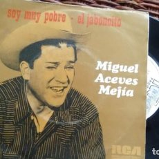 Discos de vinilo: SINGLE (VINILO) DE MIGUEL ACEVES MEJIA AÑOS 70. Lote 141826646