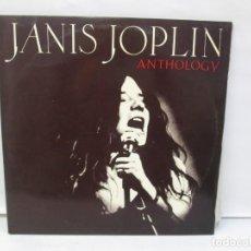 Discos de vinilo: JANIS JOPLIN. ANTHOLO GY. LP VINILO. CBS 1968. VER FOTOGRAFIAS ADJUNTAS. Lote 141836110