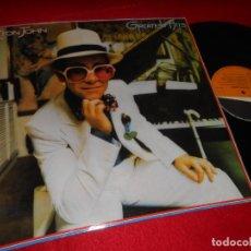 Discos de vinilo: ELTON JOHN GREATEST HITS LP 1986 DJM ESPAÑA SPAIN. Lote 141849738