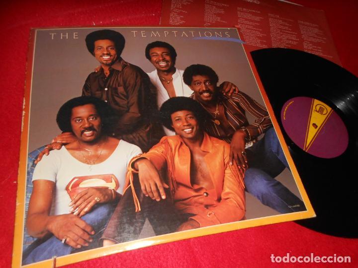 THE TEMPTATIONS LP 1981 GORDY AMERICA USA (Música - Discos - LP Vinilo - Funk, Soul y Black Music)