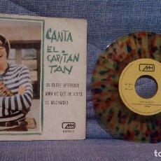 Discos de vinilo: CANTA EL CAPITAN TAN - UN OESTE DIFERENTE + 2 - RARO VINILO DE COLORES AÑO 1970 CHIRIPITIFLAUTICOS. Lote 141853922