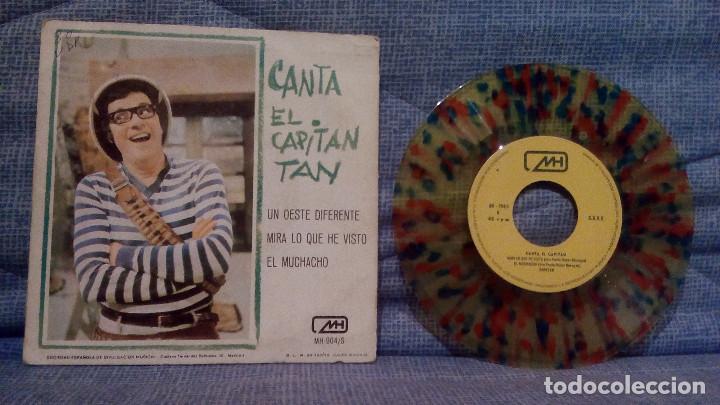 Discos de vinilo: CANTA EL CAPITAN TAN - UN OESTE DIFERENTE + 2 - RARO VINILO DE COLORES AÑO 1970 CHIRIPITIFLAUTICOS - Foto 2 - 141853922