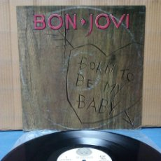 Discos de vinilo: BON JOVI - BORN TO BE MY BABY 1988 ND EP. Lote 141859488