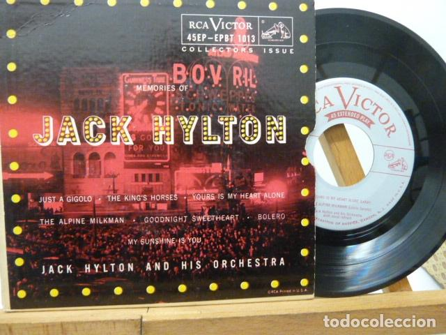 JACK HYLTON AND HIS ORQUESTRA -2 DISCOS 4 CANCIONES MADE IN USA (Música - Discos de Vinilo - Maxi Singles - Orquestas)