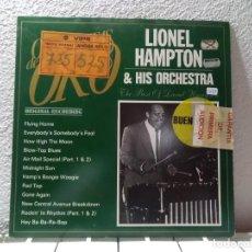 Discos de vinilo: LIONEL HAMPTON . Lote 141880974