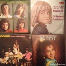 Discos de vinilo: LOTE 4 DISCOS: DOVA, DOS DE LOS ANGELES, SUSSY . Lote 141881958