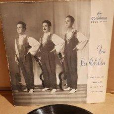 Discos de vinilo: TRÍO LOS REBELDES / PRONTO TE VAS A CASAR / EP - COLUMBIA - 1962 / MBC. ***/***. Lote 141881990