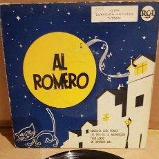 Discos de vinilo: AL ROMERO Y SU ORQUESTA / AQUELLOS OJOS VERDES / EP - RCA-1958 / MBC. ***/***. Lote 141882894
