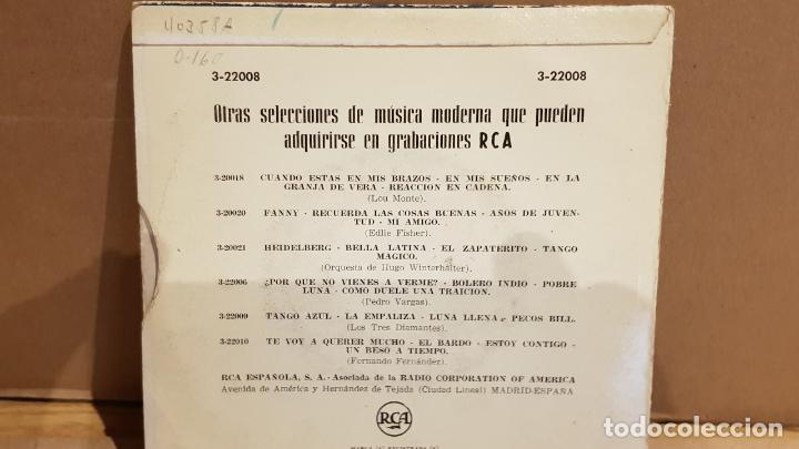 Discos de vinilo: AL ROMERO Y SU ORQUESTA / AQUELLOS OJOS VERDES / EP - RCA-1958 / MBC. ***/*** - Foto 2 - 141882894