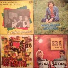 Discos de vinilo: LOTE 4 DISCOS TONY ASTARITA, WESS & DORI, SANDRO GIACOBBE, I CABARINIERI. Lote 141883866