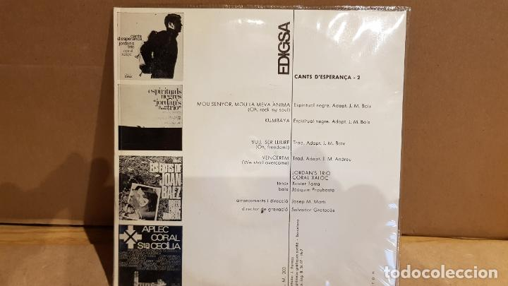 Discos de vinilo: JORDANS TRIO-CORAL XALOC / CANTS DESPERANÇA-2 / EP - EDIGSA - 1967 / MBC. ***/*** - Foto 2 - 141888218