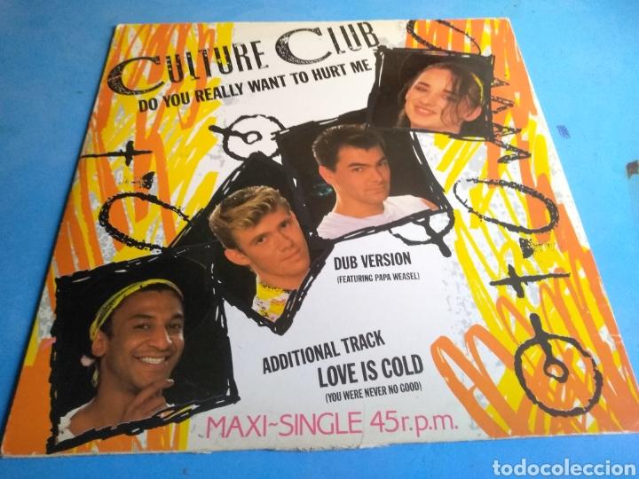 DISCO (CULTURE CLUB)DO YOU REALLY WANT TO HURT ME SÑO 1982 (Música - Discos de Vinilo - Maxi Singles - Pop - Rock - New Wave Internacional de los 80)
