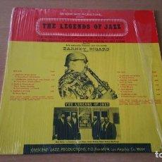 Discos de vinilo: LP BARNEY BIGARD CRESCENT 1974 USA FIRMADO POR VARIOS ARTISTAS. Lote 141898230