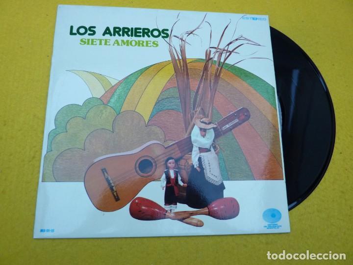 LP LOS ARRIEROS SIETE AMORES (M-/M-) 1979 VINILO Ç (Música - Discos - LP Vinilo - Country y Folk)