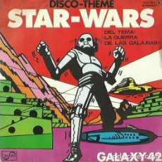 Discos de vinilo: STAR-WARS. SINGLE PROMOCIONAL. SELLO ZAFIRO. EDITADO EN ESPAÑA. AÑO 1977. Lote 141900962