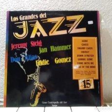 Discos de vinilo: LOS GRANDES DEL JAZZ 15. Lote 141901638