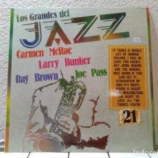 Discos de vinilo: LOS GRANDES DEL JAZZ 21. Lote 141901722
