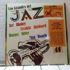 Discos de vinilo: LOS GRANDES DEL JAZZ 44. Lote 141901858