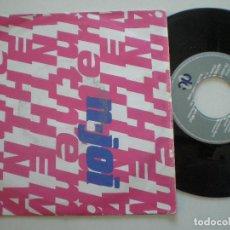 Discos de vinilo: N-JOY - SINGLE UK 1991. Lote 141903970