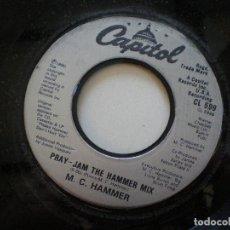 Discos de vinilo: M.C. HAMMER - SINGLE USA . Lote 141904154