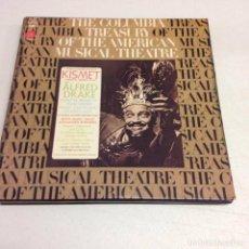 Discos de vinilo: ALFRED DRAKE & THE KISMET ORIGINAL BROADWAY CAST - KISMET . Lote 141907886