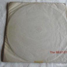 Discos de vinilo: LOS BEATLES: EL ALBUM BLANCO-WHITE ALBUM EDICION DE URUGUAY-APPLE ORIGINAL-PORTADA UNICA EN EL MUNDO. Lote 141909434
