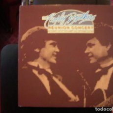 Discos de vinilo: THE EVERLY BROTHERS- REUNION CONCERT. DOBLE LP. Lote 141909714