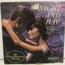 Discos de vinilo: THE PARRIS MITCHELL STRINGS - NIGHT AND DAY - SOLO PORTADA - VG. Lote 141913490