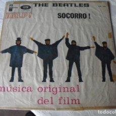 Discos de vinilo: LOS BEATLES: HELP! -EDICION DE URUGUAY- LABEL ORIGINAL 1965 MONO ODEON-VEALO. Lote 141918690