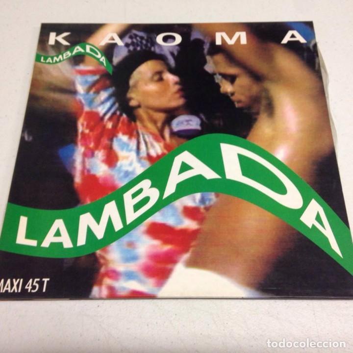 KAOMA – LAMBADA (Música - Discos de Vinilo - Maxi Singles - Étnicas y Músicas del Mundo)
