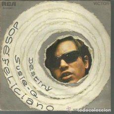 Discos de vinilo: JOSÉ FELICIANO: DESTINY / SUSIE-Q RCA 3-10541 AÑO 1970 NUEVO. Lote 141925854