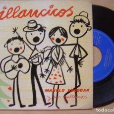 Discos de vinilo: MANOLO ESCOBAR - VILLANCICOS - EP 19659 - SAEF. Lote 141927638
