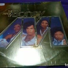 Discos de vinilo - BONEY M. - THE MAGIC OF - 20 GOLDEN HITS. CON ENCARTE. - 141928726