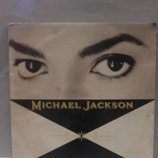Discos de vinilo: VINILO MICHAEL JACKSON BLACK OR WHITE RPM 45 (LP 45) SINGLE 1991 MADE IN HOLLAND. Lote 141933758