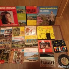 Discos de vinilo: LOTE 12 SINGLES DE SARDANAS 3 LP Y 1 EP OPORTUNIDAD!!. Lote 141935974