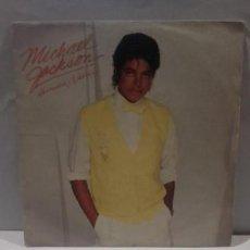 Discos de vinilo: VINILO MICHAEL JACKSON HUMAN NATURE RPM 45 (LP 45) SINGLE 1983 MADE IN HOLLAND. Lote 141936350