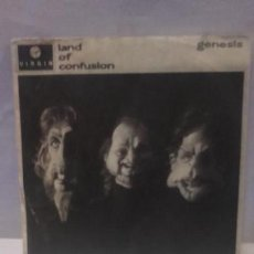 Discos de vinilo: VINILO GENESIS LAND OF CONFUSION RPM 45 (LP 45) SINGLE 1986 MADE IN WESTERN GERMANY (PHIL COLLINS). Lote 141937154