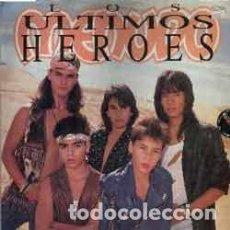 Discos de vinilo: MENUDO - LOS ULTIMOS HEROES - SONOGRAFICA 220.010 - 1989 - EDICION VENEZOLANA (RICKY MARTIN). Lote 141937654