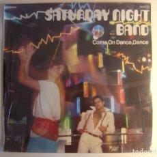 Discos de vinilo: SATURDAY NIGHT BAND COME ON DANCE - LP 1978 - PRELUDE - PRECINTADO. Lote 141939426