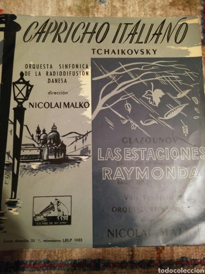 VINILO CAPRICHO ITALIANO (Música - Discos de Vinilo - EPs - Clásica, Ópera, Zarzuela y Marchas)