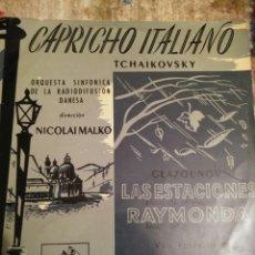 Discos de vinilo: VINILO CAPRICHO ITALIANO. Lote 141942213