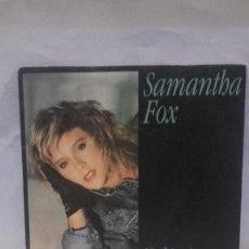 Discos de vinilo: VINILO SAMANTHA FOX NOTHING'S GONNA STOP ME NOW RPM 45 (LP 45) SINGLE 1987 MADE IN GERMANY. Lote 141942922