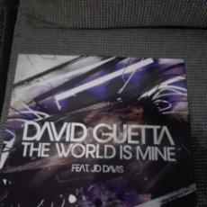 Discos de vinilo: THE WORLD IS MINE DAVID GUETTA. Lote 141932946