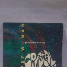Discos de vinilo: VINILO GYPSY WOMAN LA DA DEE LA DA DA RPM 45 (LP 45) SINGLE 1991 MADE IN GERMANY. Lote 141946078