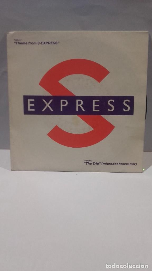 VINILO S EXPRESS THEME FROM S-EXPRESS RPM 45 (LP 45) SINGLE 1988 MADE IN HOLLAND (Música - Discos - Singles Vinilo - Disco y Dance)